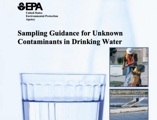 Sampling Guidance for Unknown Contaminants in Drinking Water