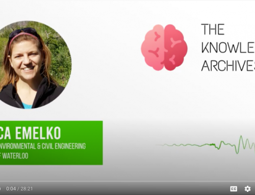 Monica Emelko interviewed on The Knowledge Archives podcast